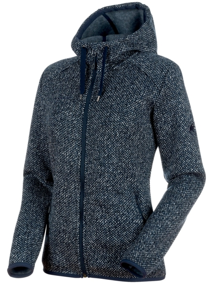 Mammut Chamuera Ml Hooded Ski jas blauw