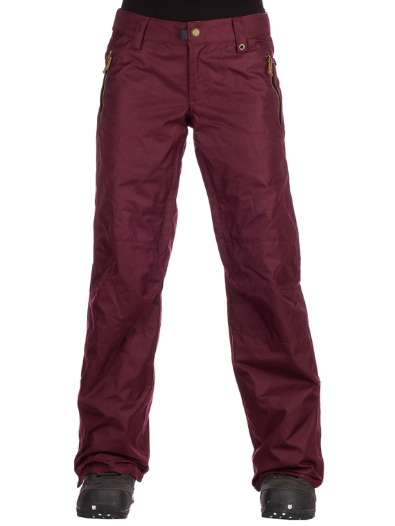 686 After Dark Shell broek rood