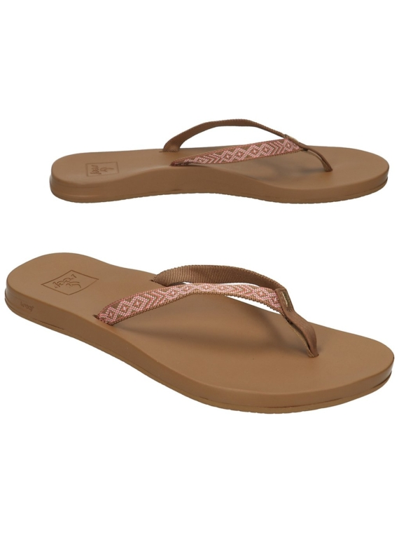 Reef Cushion Bounce Woven slippers bruin