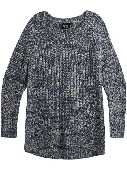 Animal Sui Pullover blauw