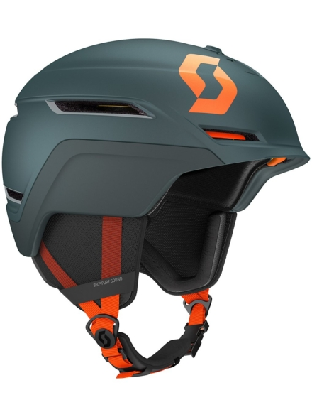 Scott Symbol 2 Plus D Skihelm blauw