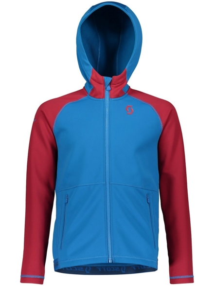 Scott Hooded Defined Ski jas blauw