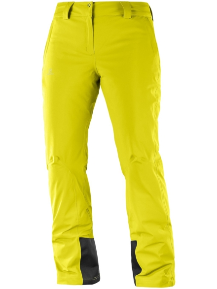 Salomon Icemania broek Long geel
