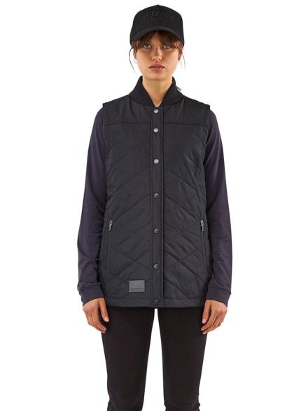 Mons Royale Merino The Keeper Insulator Shirt Ski jas zwart
