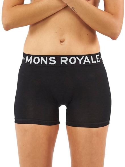Mons Royale Merino Hannah Hot broek zwart