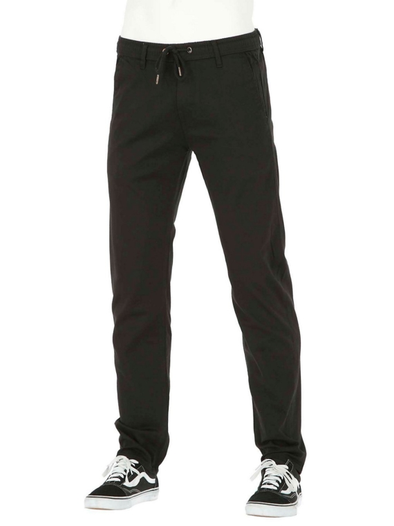 REELL Reflex Easy Straight broek Long zwart