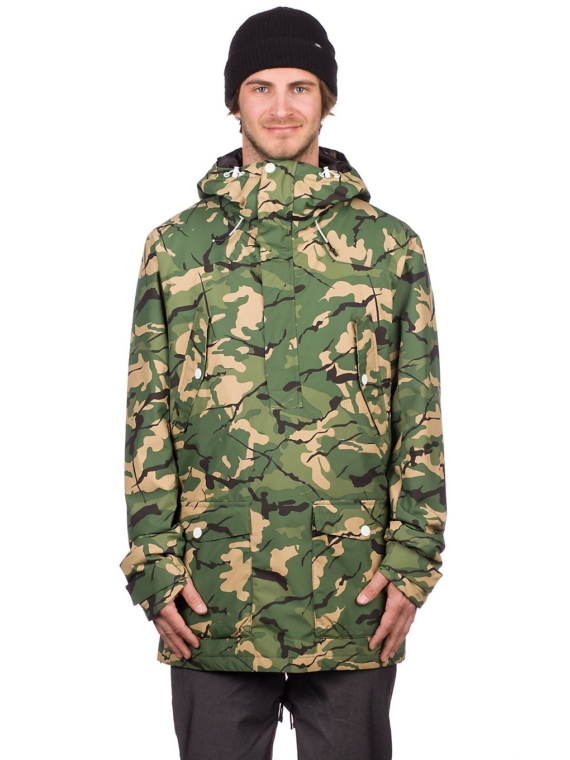 WearColour Colour Anorak groen