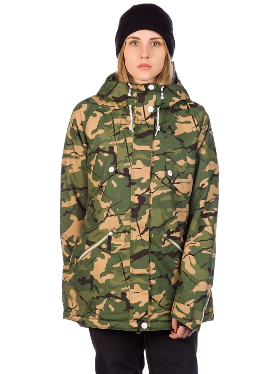 WearColour Flare Ski jas camouflage