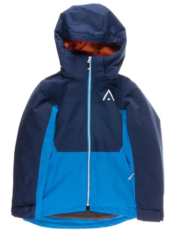 WearColour Split Ski jas blauw