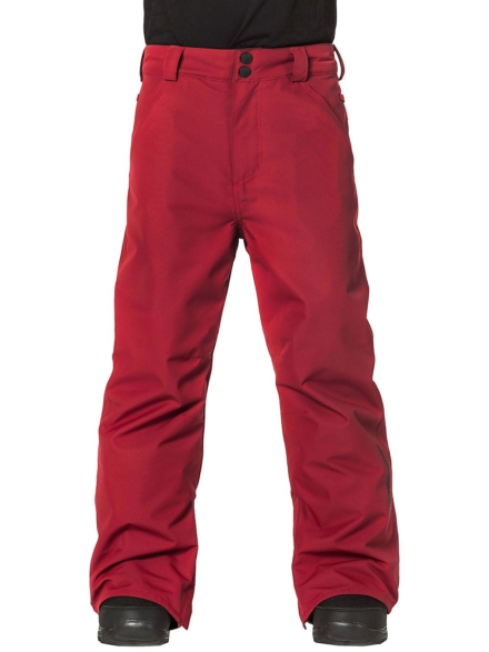 Horsefeathers Pinball broek rood