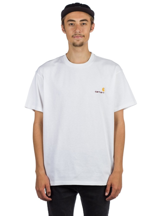 Carhartt WIP American Script T-Shirt wit