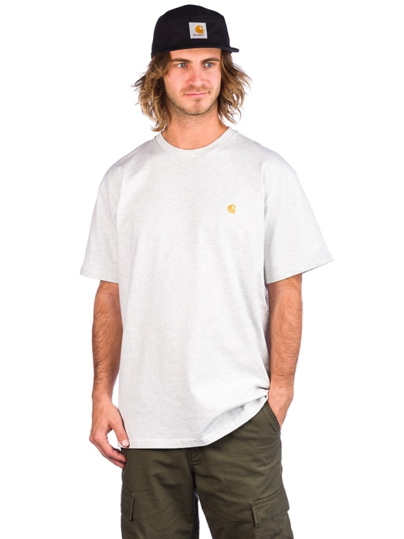 Carhartt WIP Chase T-Shirt grijs