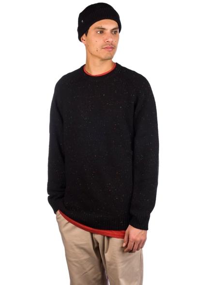 Carhartt WIP Anglistic Pullover zwart