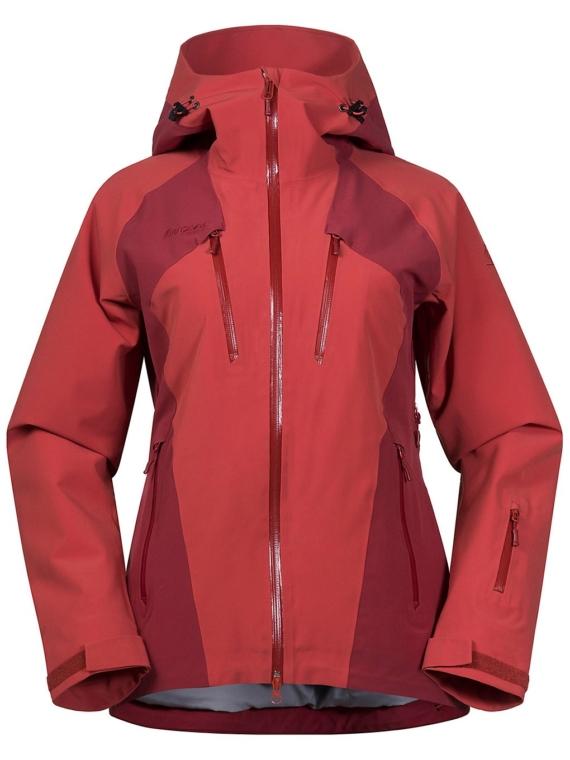 Bergans Oppdal Insulated Ski jas oranje