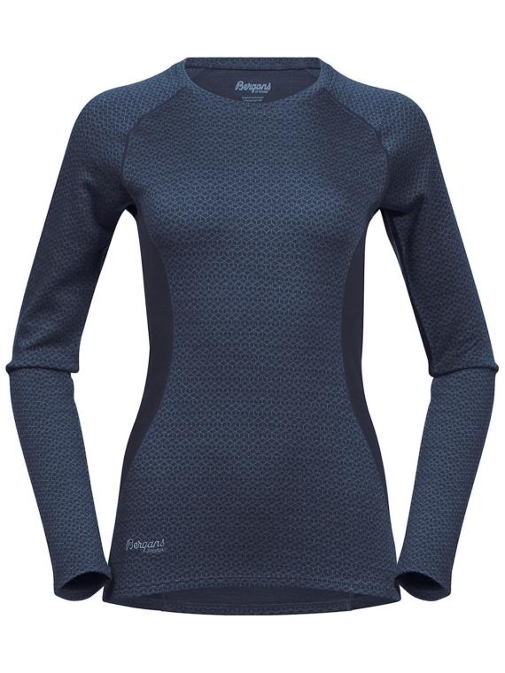 Bergans Snoull Tech t-shirt met lange mouwen blauw