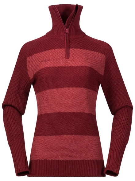 Bergans Rundemanen Jumper Tech t-shirt met lange mouwen rood