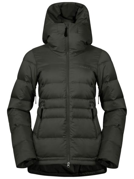 Bergans Stranda Down Hybrid Ski jas groen