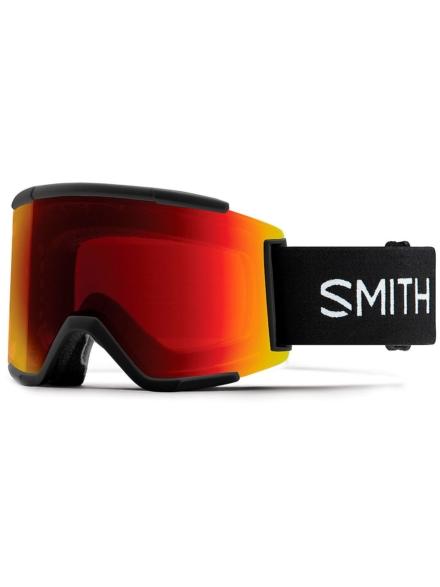 Smith Squad XL zwart(+Bonus Lens) zwart