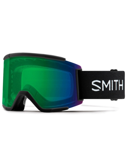 Smith Squad XL zwart(+Bonus Lens) zwart