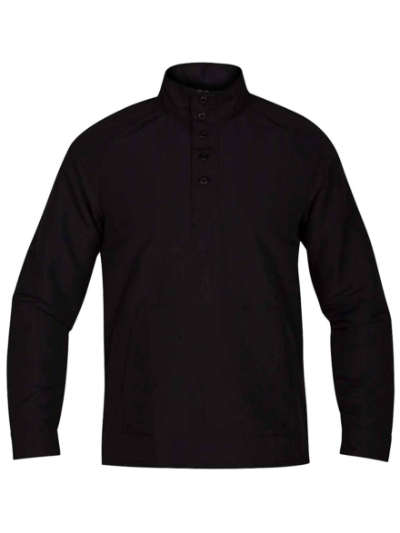 Hurley Drifter Popover Shirt zwart