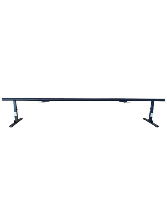 Flat Spot Rail To Go Round + Straight Extension Skate Obstacle zwart