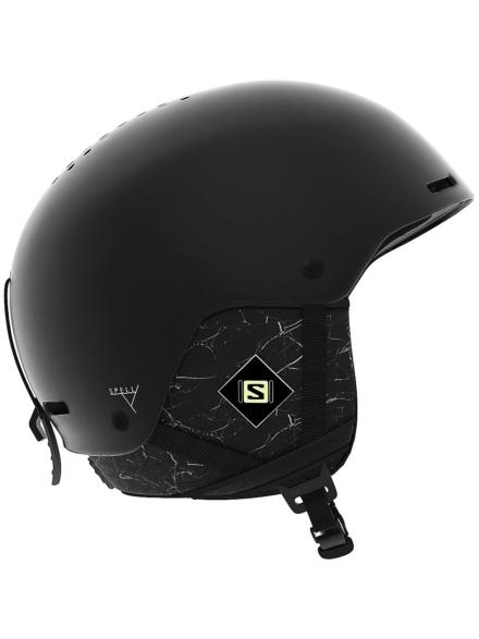 Salomon Spell+ Skihelm zwart