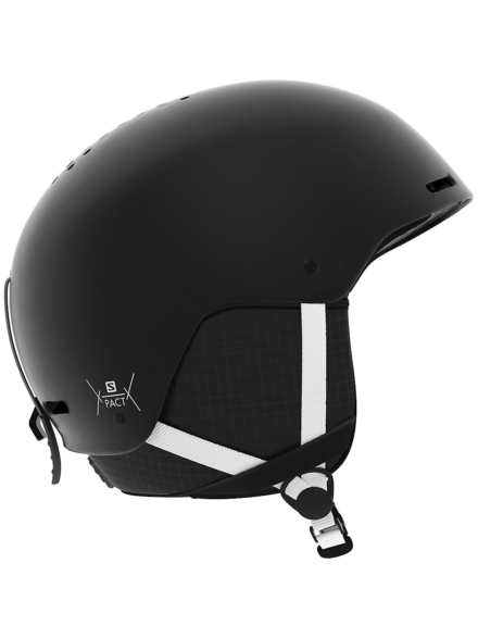 Salomon Pact Snowboard Skihelm zwart