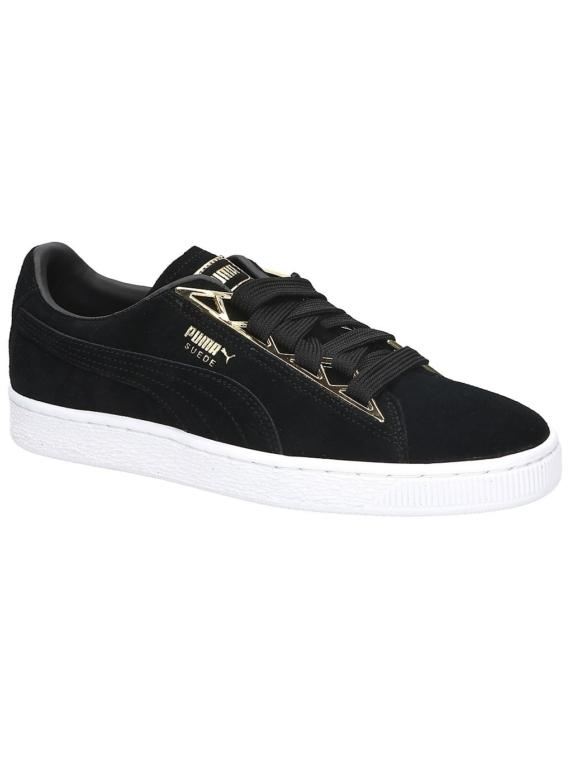 Puma Suede Jewel Metalic Sneakers zwart