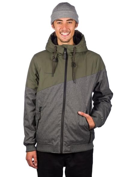 ragwear Wings Ski jas groen