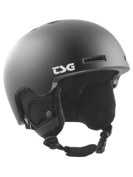 TSG Vertice Solid Color Skihelm zwart