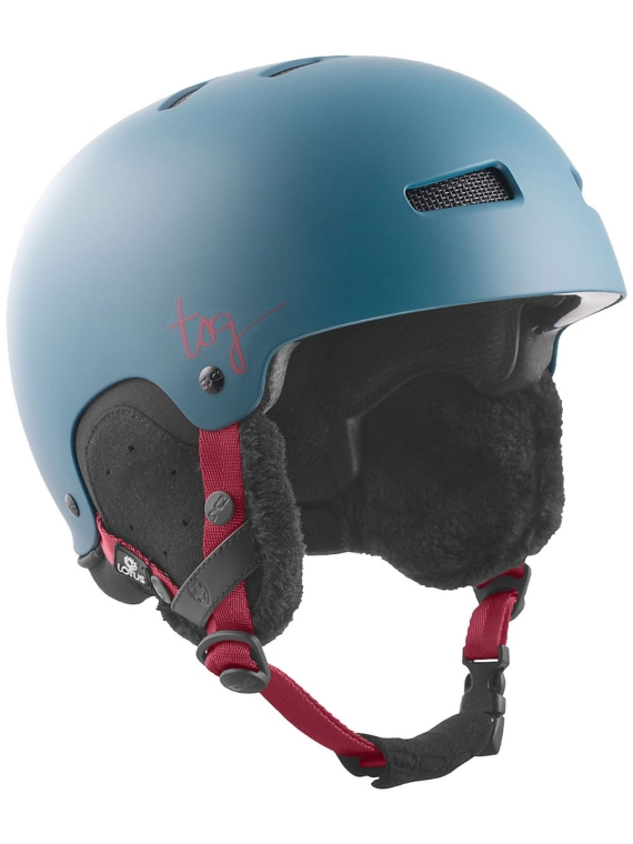 TSG Lotus Solid Color Skihelm blauw