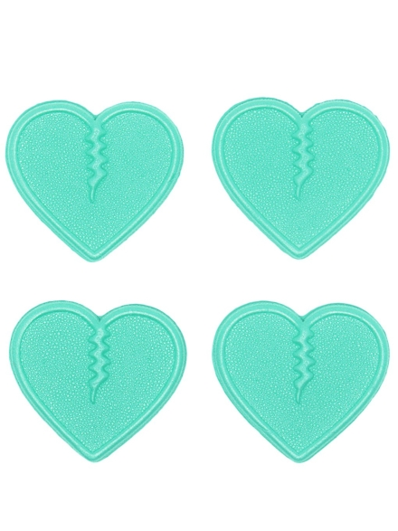 Crab Grab Mini Hearts Stomp Pad blauw
