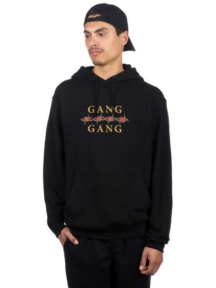 Moodswings Gang Gang Hoodie zwart