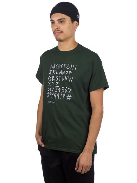 Scum Front Ratboy T-Shirt groen