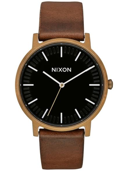 Nixon The Porter lederen bruin