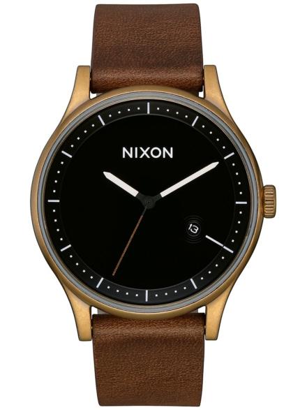 Nixon The Station lederen bruin