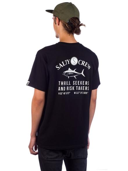 Salty Crew Markets T-Shirt zwart