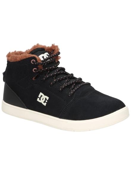 DC Crisis High Wnt Sneakers zwart