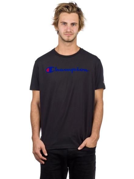 Champion Crewneck T-Shirt zwart