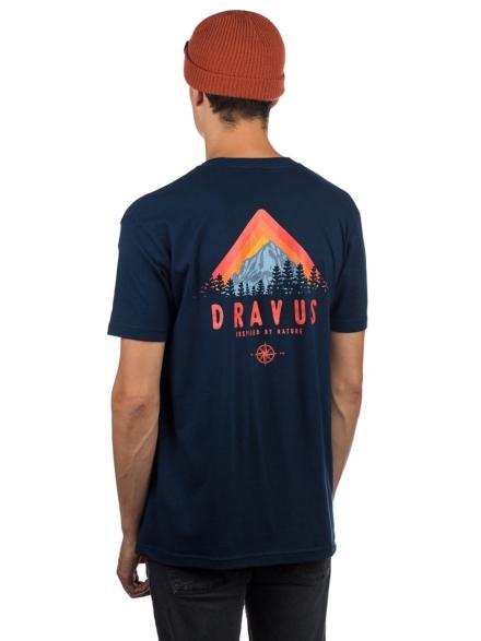 Dravus Mountain T-Shirt blauw