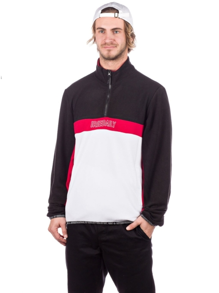 Iriedaily GSE 2.0 Troyer Fleece Pullover zwart