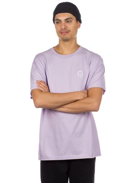 Earl Truishirt Embroider T-Shirt paars