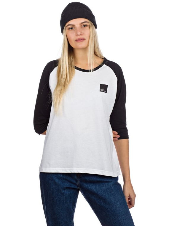 Blue Tomato BT Authentic Raglan Long Sleeve T-Shirt wit