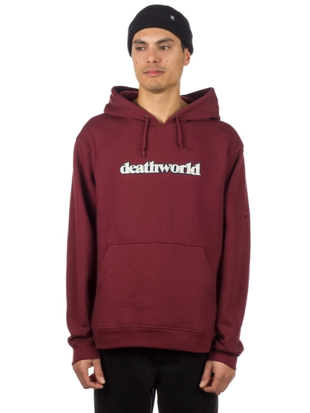 Deathworld Courtside PO Hoodie rood
