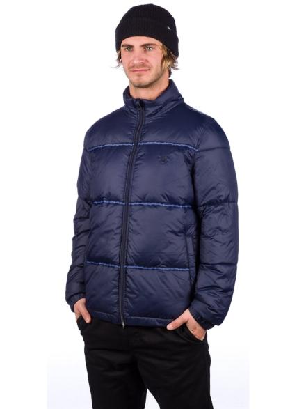 Deathworld DWFH Puffer Ski jas blauw
