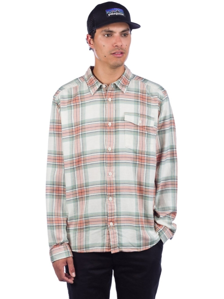 Patagonia LW Fjord Flannel Shirt patroon
