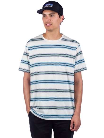 Patagonia Squeaky Clean Pocket T-Shirt patroon