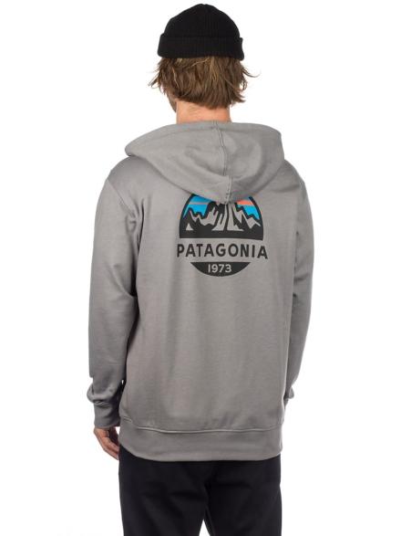 Patagonia Fitz Roy Scope LW Full Zip Hoodie grijs