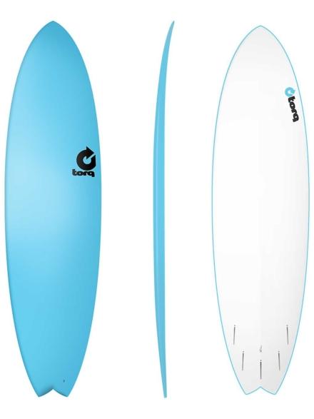 Torq Softboard Fish 7'2 blauw