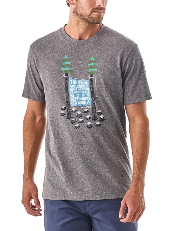 Patagonia Treesitters Responsibili T-Shirt grijs